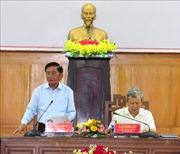 Đoàn công tác Tiểu ban Văn kiện Đại hội XIII làm việc tại tỉnh Thừa Thiên - Huế