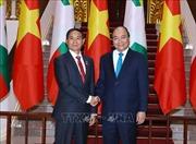 Thủ tướng Nguyễn Xuân Phúc hội kiến Tổng thống Myanmar