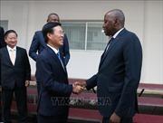 Đồng chí Võ Văn Thưởng hội kiến Thủ tướng và Chủ tịch Quốc hội Cote d'Ivoire
