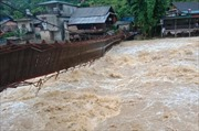 Vùng núi Lào Cai cần đề phòng lũ quét, sạt lở đất đá