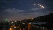 Israel không kích các mục tiêu ở Syria