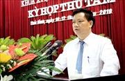 Ông Nguyễn Khắc Thận được bầu làm Phó Chủ tịch UBND tỉnh Thái Bình