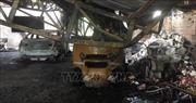 Khẩn trương làm rõ vụ cháy quán cà phê lan sang kho chứa hàng gây nhiều thiệt hại