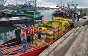 Lắp đặt hàng rào chống buôn lậu khu vực sông biên giới Ka Long