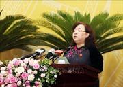 Hội đồng nhân dân thành phố Hà Nội khai mạc kỳ họp bất thường