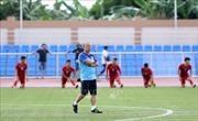 U22 Việt Nam tập kín chiến thuật trước trận mở màn SEA Games 30