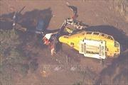 Rơi máy bay trực thăng chữa cháy rừng ở Australia