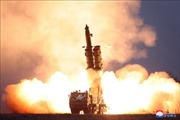 Triều Tiên xác nhận thử bệ phóng tên lửa đa nòng siêu lớn