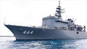 Hai tàu quét mìn của Lực lượng Tự vệ trên biển Nhật Bản cập cảng Tiên Sa
