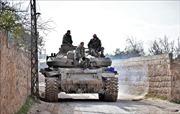 Quân đội Syria chiếm thêm một số thị trấn tại tỉnh Idlib