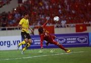 Đội tuyển Việt Nam tập luyện tại TP Hồ Chí Minh trước trận then chốt với Malaysia