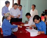 Kiểm tra việc thực hiện hỗ trợ người dân gặp khó khăn do dịch COVID-19 ở Quảng Ngãi