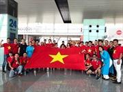 ASIAD 2018: Người hâm mộ lên đường sang Indonesia cổ vũ trận tứ kết U23 Việt Nam - Syria