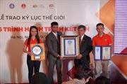 Kỷ lục thế giới 'Hành trình kết nối' góp phần quảng bá hình ảnh Việt Nam