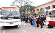 Hà Nội tổ chức những chuyến xe miễn phí cho công nhân có hoàn cảnh khó khăn về quê đón Tết