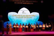 Lễ vinh danh và trao Giải thưởng Du lịch Việt Nam 2019