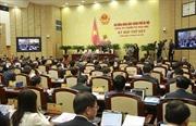 Thành phố Hà Nội lấy phiếu tín nhiệm 36 chức danh do HĐND bầu