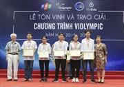 Hơn 2.000 giải thưởng Violympic dành cho học sinh xuất sắc
