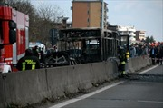 Vụ bắt cóc, đốt xe buýt ở Italy: Thủ phạm không liên quan đến Hồi giáo cực đoan