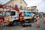 Tài xế nghi ngáo đá gây tai nạn liên hoàn, làm nhiều người bị thương