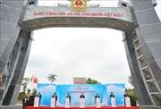 Khánh thành Quốc môn - Cửa khẩu Quốc tế Lệ Thanh ở Gia Lai