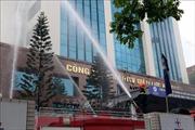 Điện lực Hải Dương diễn tập phòng cháy, chữa cháy