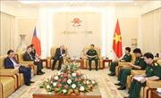 Tổng Tham mưu trưởng Quân đội Nhân dân Việt Nam tiếp Phó Chủ tịch Hạ viện Cộng hòa Séc