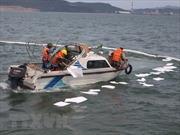 Sẵn sàng ứng phó sự cố tràn dầu trên vùng biển Bình Thuận