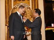 Trao tặng Đại sứ Cộng hòa Liên bang Đức tại Việt Nam Huân chương Hữu nghị