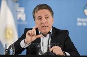 Bộ trưởng Kinh tế Argentina từ chức