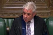Chủ tịch Hạ viện Anh ấn định thời điểm Quốc hội quay trở lại làm việc