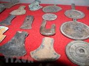 Phát hiện nhiều di vật khảo cổ trong hai hang động ở Hữu Lũng, Lạng Sơn