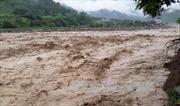 Hai vợ chồng công nhân thi công Thủy điện Bản Hồ bị lũ cuốn mất tích