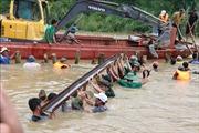 Khẩn trương khắc phục sự cố vỡ đê bao Quảng Điền, Đắk Lắk