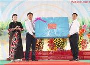 Chủ tịch Quốc hội dự Lễ khai giảng năm học mới tại huyện Tháp Mười, tỉnh Đồng Tháp