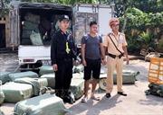 Bắt quả tang vụ vận chuyển 2,5 tấn nầm lợn không rõ nguồn gốc