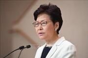 Lãnh đạo Hong Kong (Trung Quốc) tổ chức họp báo sau đợt biểu tình cuối tuần