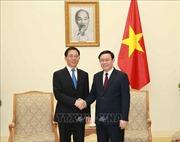 Phó Thủ tướng Vương Đình Huệ tiếp Phó Bí thư Tỉnh ủy Vân Nam, Trung Quốc