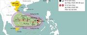 Cơn bão số 6 cách quần đảo Trường Sa khoảng 310 km