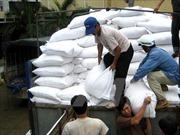 Cấp phát gạo hỗ trợ cho học sinh vùng đặc biệt khó khăn tại Ninh Thuận