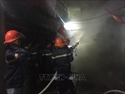 Nghi 2 bình xịt muỗi làm cháy rụi một ngôi nhà tại thành phố Vinh