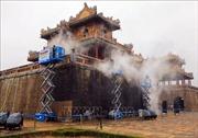 Sử dụng công nghệ hơi nước nóng làm sạch di tích cổng Ngọ Môn, Đại nội Huế