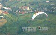 Khảo sát 2 điểm bay dù lượn mới tại đỉnh đèo Khau Phạ và khu vực đồi mâm xôi, Yên Bái