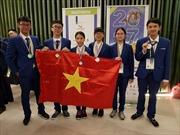 Cả 6 học sinh Việt Nam cùng giành huy chương Kỳ thi Khoa học trẻ Quốc tế