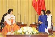 Phó Chủ tịch nước tiếp Đoàn đại biểu Hội hữu nghị Triều Tiên - Việt Nam
