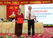 Phó Thủ tướng Trương Hòa Bình thăm, chúc Tết cổ truyền Chôl Chnăm Thmây tại Trà Vinh