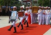 [Trực tiếp] Cử hành trọng thể Lễ An táng nguyên Tổng Bí thư Đỗ Mười