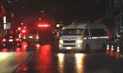 Trực thăng đưa các cầu thủ thiếu niên Thái Lan tới bệnh viện Chiang Rai