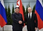 Thượng đỉnh Nga-Triều kết thúc sau 3 tiếng rưỡi hội đàm