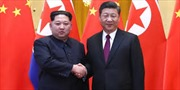 Chủ tịch Trung Quốc đến Bình Nhưỡng, bắt đầu chuyến thăm chính thức Triều Tiên